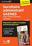 Concours Secrétaire administratif et SAENES - Catégorie B - Préparation ...