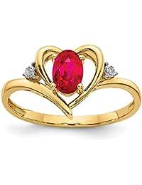Amazon.es: joyas con rubies - 200 - 500 EUR: Joyería