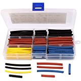 4 polyoléfine Heat Shrink Tube tailles Tube 2:1 180 pièces Couleurs assorties
