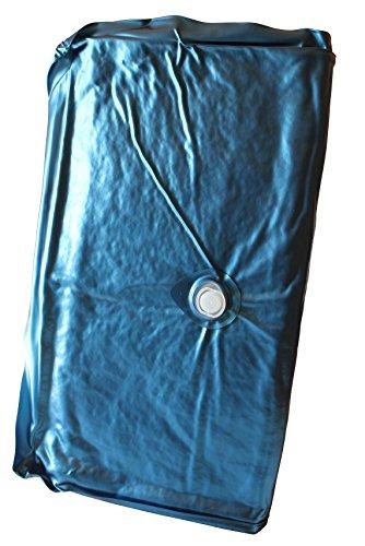 Einzelne DUO Wassermatratze 90x200 cm, Wasserkern, Wasserbett Matratze für 180x200 cm Softside Wasserbetten (Beruhigung 90%)