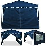 Seitenteile blau Capri 2er Set - Seitenwand