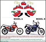 Emanuel & Co Kit adesivi Decal stikers Suzuki DR 650 R 1992 (Geben Sie Model A Oder B)