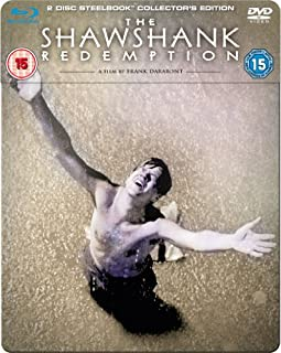 The Shawshank Redemption (Blu-ray + DVD Steelbook) [1994] (B008XHDC0M) | Amazon price tracker / tracking, Amazon price history charts, Amazon price watches, Amazon price drop alerts