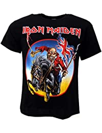 Iron Maiden Euro Tour T-shirt Black Official Licensed Music