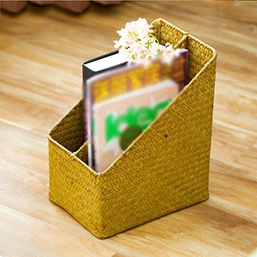 DFHHG® Libro Soporte Archivo Rack 25 * 18 * 30 Cm Color primario durable