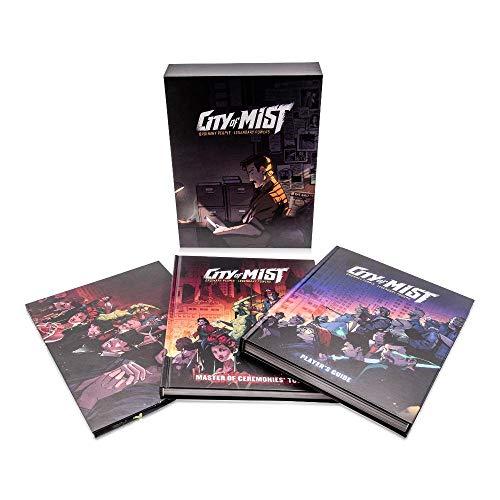City of Mist Premium Box Set, 2 Books, GM Screen - Mist-panel