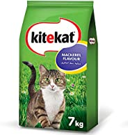 Kitekat Mackerel Flavour Cat Food, 7kg