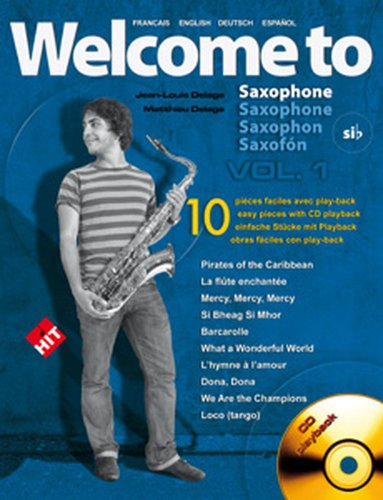 hit-diffusion-delage-jlm-welcome-to-saxophone-sib-vol1-cd-sheet-music-pop-rock-wind