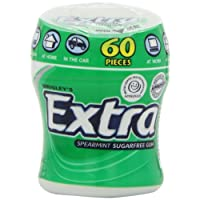 Extra Spearmint Chewing Gum, 60 Pieces