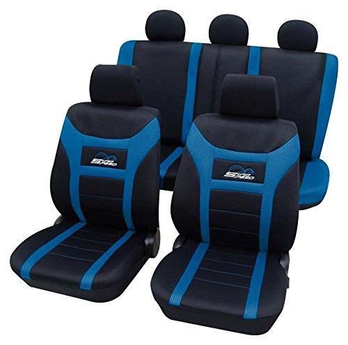 Super Speed blau 9580 Schonbezug Sitzbezug Autoschonbezug Schonbezüge für das unten angegebene Fahrzeug