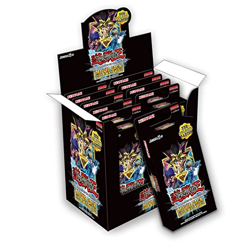 Konami 116731160001 - Yu-Gi-Oh! Movie Pack Gold Edition Display
