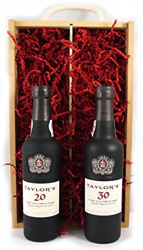 Taylors-50-years-of-Port-375cl-presented-in-a-double-wooden-boxLuxury-Retirement-Corporate-Thank-You-Wedding-Anniversary-Gifts-50th-Birthday-Presents-for-Him-Men-Dad-Husband-Son-Brother-Grandad