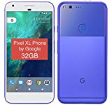 "PIXEL XL Phone by Google - 32GB - 5.5"" inch - Android Nougat - Factory Unlocked 4G/LTE Smartphone (Really Blue)"