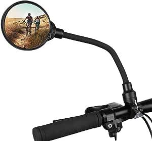 1 Stück Fahrradlenker Flexible Sicherheit Rückspiegel