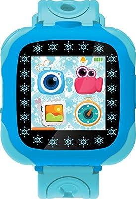 Disney Frozen Reloj, cámara smartwatch, Color Azul (Lexibook DMW100FZ) de Lexibook