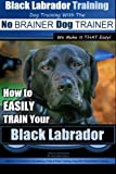Black Labrador Training Dog Training With the No Brainer Dog Trainer: How to Easily Train Your Black Labrador: Volume 1