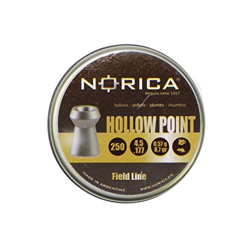 Norica Hollow Point Hohlspitz-Diabolos im Kal. 4,5mm (.177) glatt - 250 Schuss -