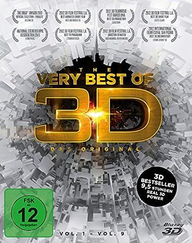 The very Best of 3D - Das Original - Vol. 1-9 (3 Disc Box) [3D Blu-ray] (Beste 3d Blue Ray Filme)