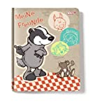 Nici 30897 - Freundebuch Badger DIN A 6