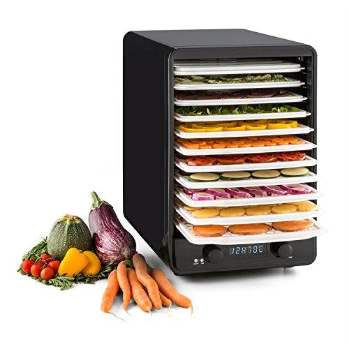 klarstein-fruitcube-deshydrateur-alimentaire-electrique-au-design-moderne-550w-10-etages-40-70c-roug