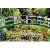 Poster 'Il ponte giapponese a Giverny', per Claude Monet, Dimensione: 91 x 61 cm