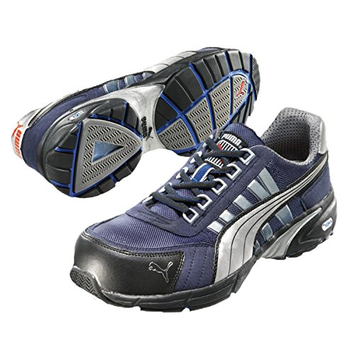 Puma Safety Shoes 47-642530-43, Chaussures de sécurité Adulte Mixte Bleu (blue)