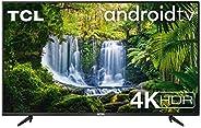 TV TCL 55P616 55 pollici, 4K HDR, Ultra HD, Smart TV con sistema Android 9.0, Design senza bordi (Micro dimmin