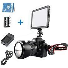 Godox LEDP-120C 3300K~5600K Super Delgado Descolorar LED Luz+ NP-F550 Baterías+ F550 Cargador para DSLR Cámara Digital Cámara Videocámara DV Canon Nikon Sony