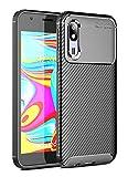 Case Collection Carbonfaser Design Hülle für Samsung Galaxy A2 Core Hülle (5,0