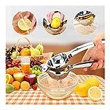 Lianqi spremiagrumi al limone, spremiagrumi manuale facile da pulire, impugnatura unica spremuta facile, succo di frutta, spremiagrumi per cocomero limone kiwi cocomero fragola uva