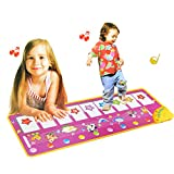 LY-LD Finger Touch Animal Music Decke-Foot Learning Piano Decke-Children es Crawling Decke-Musik-Spiele-Decke für Kinder von 3-6 Jahren