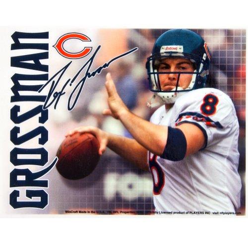 Preisvergleich Produktbild Chicago Bears – REX Grossmann Collage Aufkleber