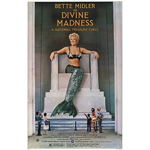 Divine Madness Movie Poster (11 x 17 Inches - 28cm x 44cm) (1980) Style A -(Bette Midler)(Jocelyn Brown)(Ula Hedwig)(Diva Gray) by MG Poster