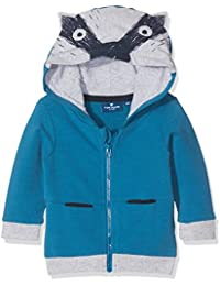 TOM TAILOR Kids Baby Boys' Sweat Jacket With Animal Hood Sweatshirt