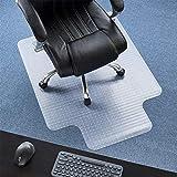 Bodenschutzmatte mit Ankernoppen Teppich Unterlage 90 * 120CM unter Bürostühlen belastbar und bruchsicher schützen Holzboden