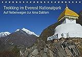 Trekking im Everest Nationalpark - Auf Nebenwegen zur Ama Dablam (Tischkalender 2019 DIN A5 quer): Eine Trekkingtour zum Ama Dablam Basislager abseits ... (Monatskalender, 14 Seiten ) (CALVENDO Orte)
