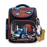 Delune Premium Betonmischer 3-132 Schulrucksack Kinderrucksack Jungen Taschen Rucksack