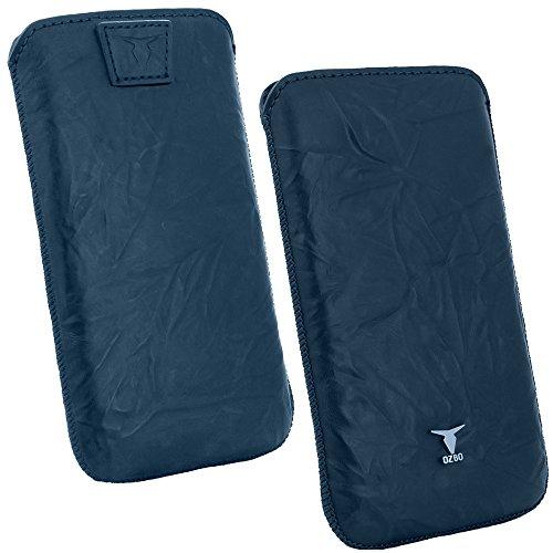 OZBO Tasche Piega XL blau 137x71x10mm (Obermaterial Beschichtetes Leder) (LTUNPIXL05)