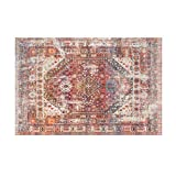 LYX1,Teppich Fußmatten Sofa-Couchtisch-Schlafzimmer der Nachttisch-Decken-Weinlese-europäischen Art-Wohnzimmer-einfachen (größe : 140 * 200cm)