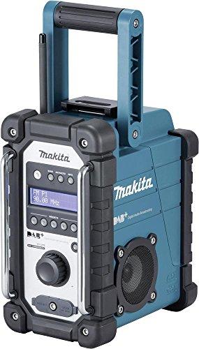 Makita Akku-Baustellenradio, DMR110 Test