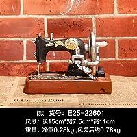 Willower Retro Mini-Vintage Modelo Decoración Creativa Decoración del hogar Bar Leche Tienda de té