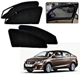 #10: Auto Pearl - Premium Quality Zipper Magnetic Sun Shades Car Curtain For - Maruti Suzuki Ciaz - Set of 4 Pcs