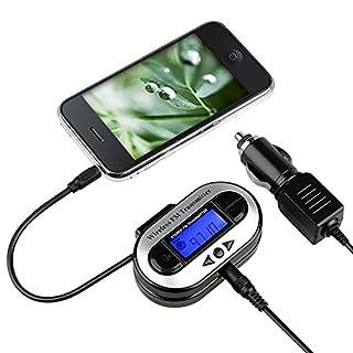 Insten All Channel FM Transmitter w/ USB Port, Black For Apple iphone 7 / 7 Plus / iPad Mini 3 / iPad Air 2 / Samsung Galaxy Tab 4 7.0 / 8.0 / 10.1