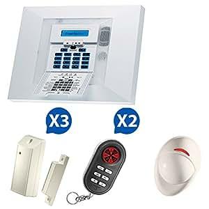 Alarme maison NFa2p agréé par les assurances Visonic Powermax Pro Kit 3