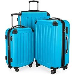 Hauptstadtkoffer Juego de maletas, Cyanblau (azul) - 122366863-HK-1203-CB