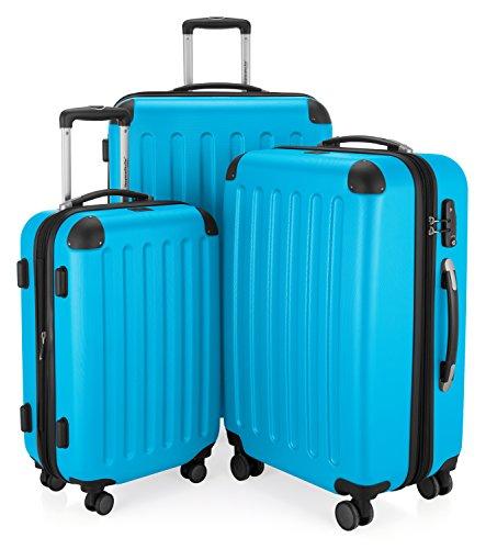Hauptstadtkoffer Juego de maletas, Cyanblau (azul) – 122366863-HK-1203-CB