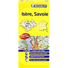 Michelin Map France: Isre, Savoie MH333 (Maps/Local (Michelin)) (English and French Edition) by Michelin (2011-01-16)
