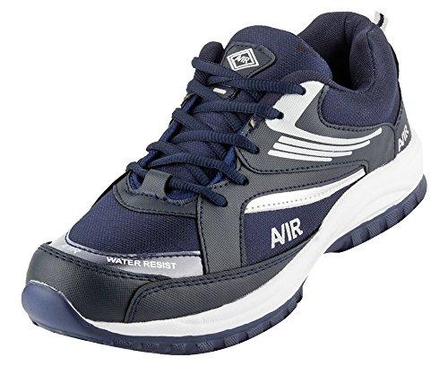 Density Men's Blue Synthetic Running Shoes - 9 UK