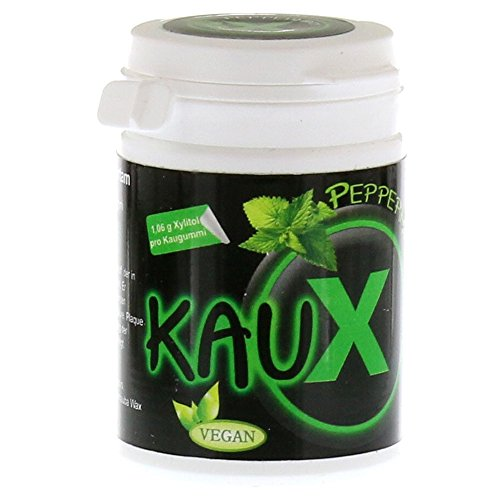 Kaux Zahnpflegekaugummi Peppermint Mit Xylitol 40 St