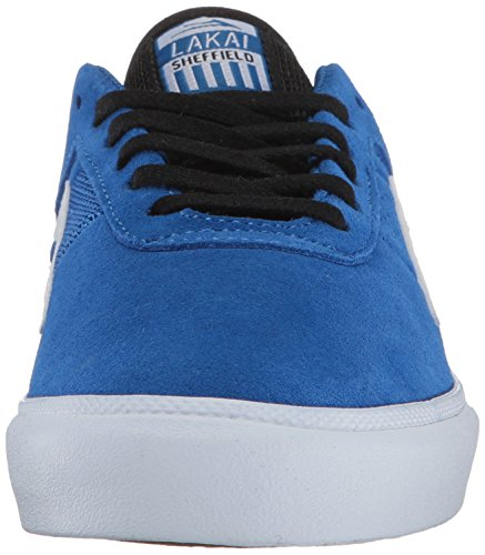 Lakai MS317 Sheffield Pink Suede Blue Suede